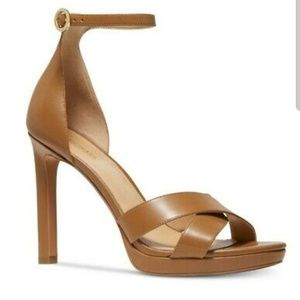 Michael Kors alexia ankle strap heels